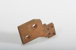 Hochspannungsbauteil aus Kupfer t=10mm