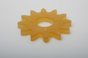 Zahnrad aus PU 65° t=10mm