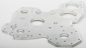 Seitenplatte Aluminium t=10mm