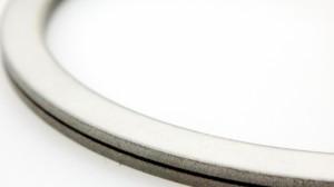 Vibrationsdämpfung1.4571-Gummi-1.4571 Gesamtdicke t=4.3mm